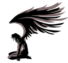 Fallen Angel With Broken Wings...