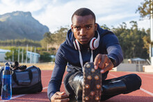 Male Athlete With Prosthetic L...