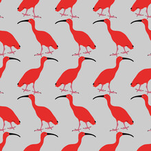 Seamless Animal Pattern With S...