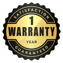 1 Year Warranty Satisfaction G...