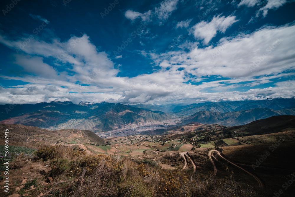 Fototapeta paisaje huanuco peru