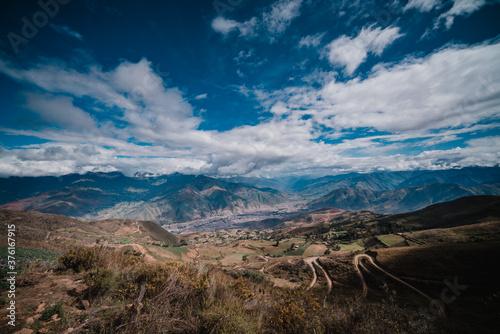 Obraz paisaje huanuco peru - fototapety do salonu