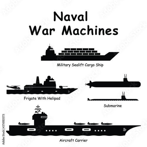 Photo Naval War Machines