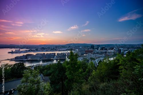 Fotografia Oslo Cityscape