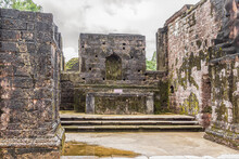 Ruins Of St. Augustine Complex. In 1835 This Complex Was Abandoned Due To The Expulsion Of The Religious Orders From Goa And The Portuguese Government Ordered Its Demolition. Old Goa, India.