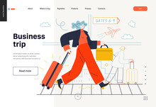 Business Topics -business Trip...
