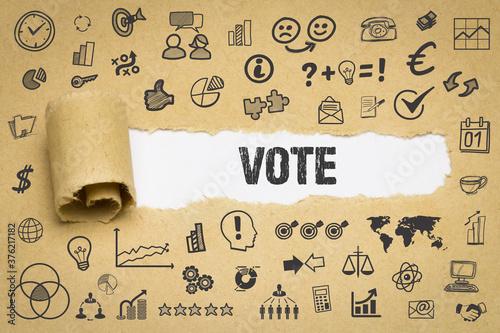 Vote Wallpaper Mural