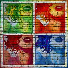 Street Art, Pop Art, Gros Plan...