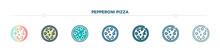 Pepperoni Pizza Icon Designed ...