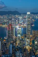 Victoria Harbor Of Hong Kong C...