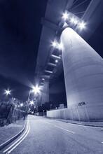 Elevated Highway Or Bridge At ...