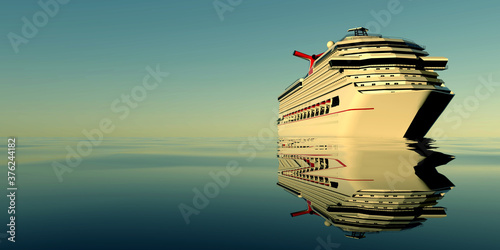Fotografie, Obraz Luxury Cruise Ship