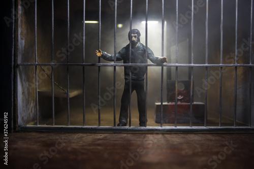 Fotografie, Obraz Jail or prison cell