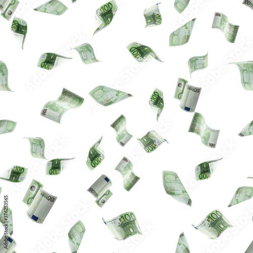 Carta da parati Money stack seamless pattern