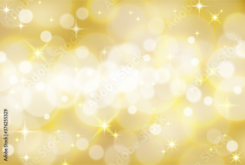 黄金に輝くキラキラ背景素材 Canvas Print