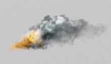 Realistic Smoke And Fire Shape...