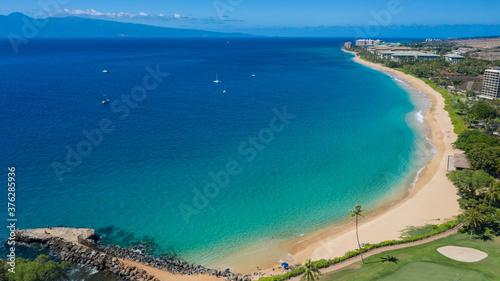 Canvastavla Kaanapali Airport Beach Maui, Hawaii