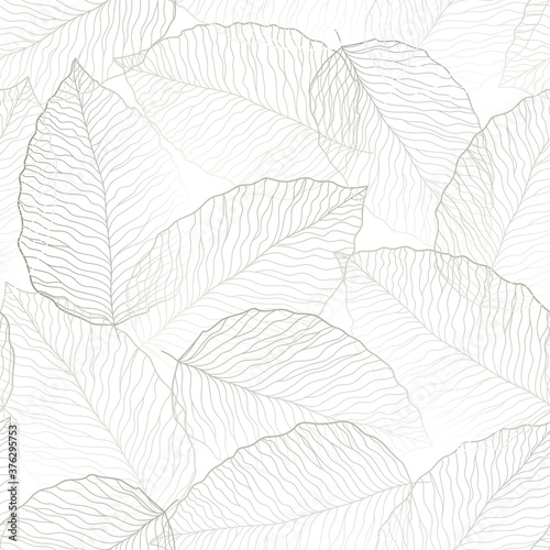 Tapety białe  seamless-white-abstract-floral-background-with-grey-leaves-thin-lines-are-drawn-with-a-pencil