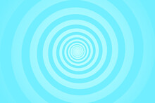 Turquoise Spiral Background. S...