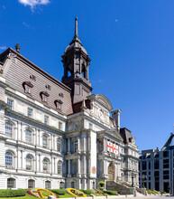 Montreal City Hall (Hotel De Ville), Quebec, Canada