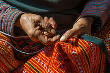 Hands Of A Black Hmong Woman S...