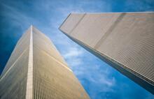 The World Trade Center Twin Towers, Manhattan, New York, USA