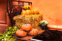 Home Staircase Decoration For Halloween