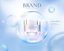 Beauty Product Ad Template