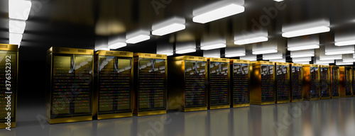 Tablou Canvas Servers