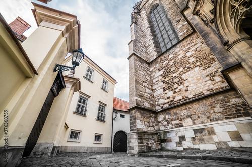Photo Strade casuali nella vecchia Brno