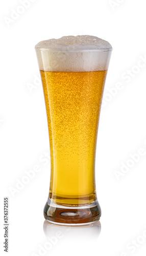 Glass of beer Fototapet
