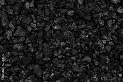 Black charcoal texture for background Fototapete