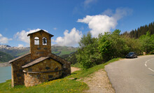 View Of Stone Chapel On Rosele...