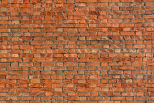 Old Wall Of The Red Bricks For...