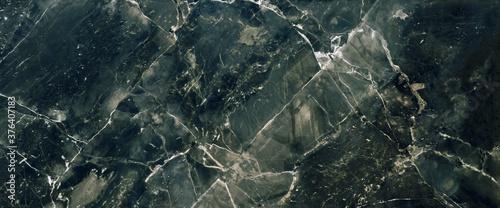 Obraz na plátně Green Marble stone texture background