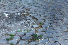 Broken Pavements Sidewalks On ...