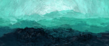 Abstract Gradient Green Blue B...