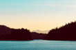 canvas print picture - Bootstour durch die Inlets von Vancouver Island