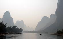 A Hazy Scene Along The Li Rive...