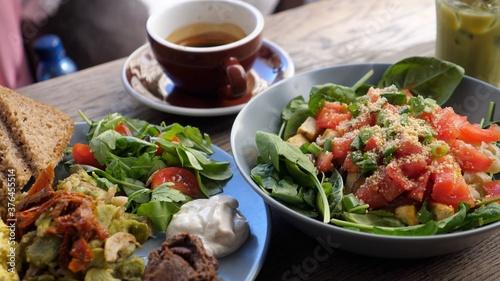 Tela Healthy vegan brunch in the city