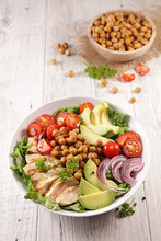 Grilled Chicken, Chickpea, Avo...