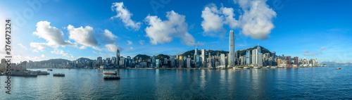 Fototapeta Hong Kong Cityscape at Morning