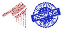 Textured President Death Round...