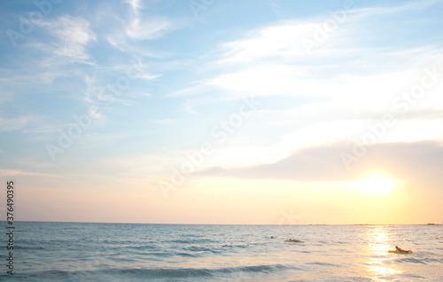 Photo 夕暮れの海