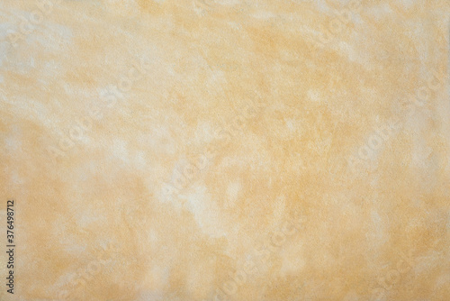 Fotografiet light yellow and beige marbled sandstone background