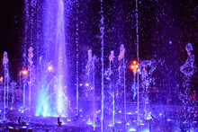 Colorful Musical Fountain At N...