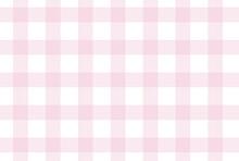Vector Scottish Check Pattern. Vector Tableware Pattern.  Check Pink Pattern.