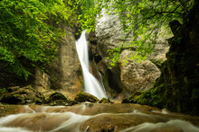 Rinnerberger Waterfall On A Ra...