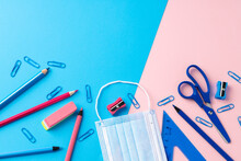 School Stationery Items And Me...