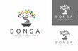 Bonsai Logo. Colorful Logo Design Template